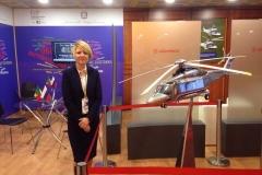 """Traductora de empresa """"Leonardo Finmeccanica"""" en el Forum económico de San Petersburgo"""