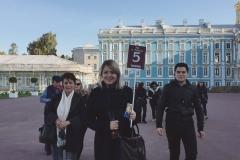 La visita guidata a Tsarskoe selo (il Palazzo di Caterina) - con un gruppo di messicani