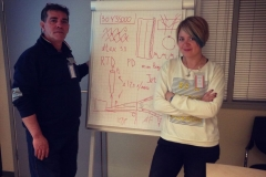 """At """"Philip Morris"""" company - interpreting at the training course for service technicians and engineers"""