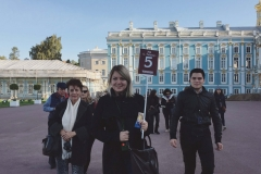 Catherine's Palace (Tsarskoe Selo) - with a mexican group in september, 2017