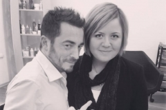 Italian to Russian interpreter at the hairdressing course in St.Petersburg (with Bryan Pasini)