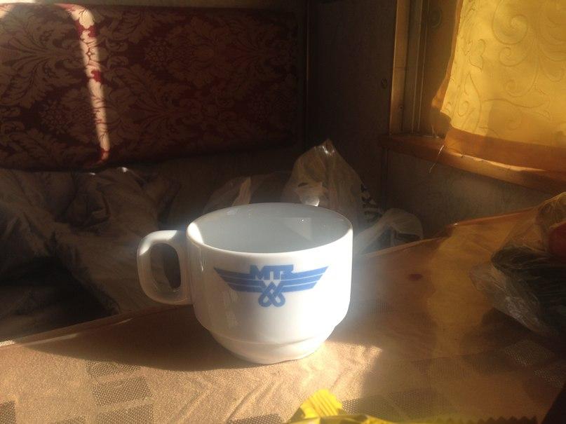 транссиб трансмонгольская ж/д чашка в поезде