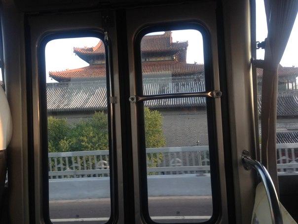 вид пекина путешетсиве по транссибу