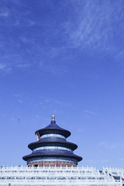 Транссиб. Китай. Пекин. Храм неба.