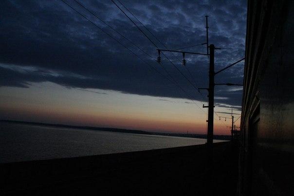 Транссибирская магистраль путешествие вид из окна поезда Байкал