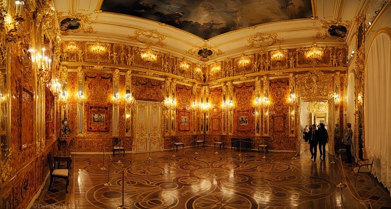 sala d'ambra russa san pietroburgo