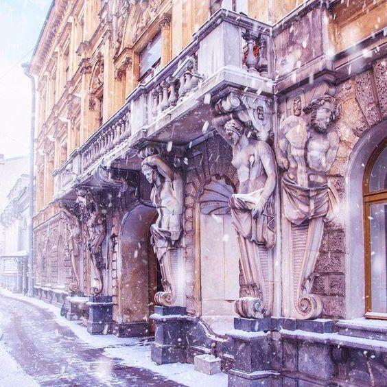 freddo russo inverno san pietroburgo