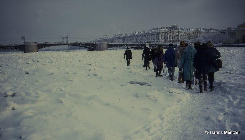 neva helado pasar Ermitage