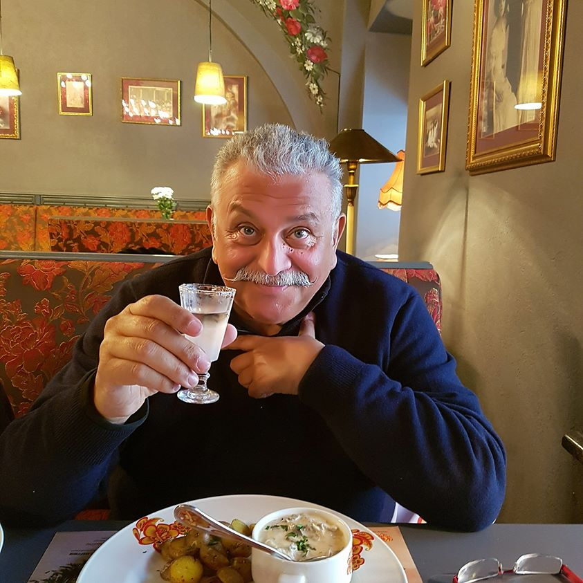 русская водка для итальянца