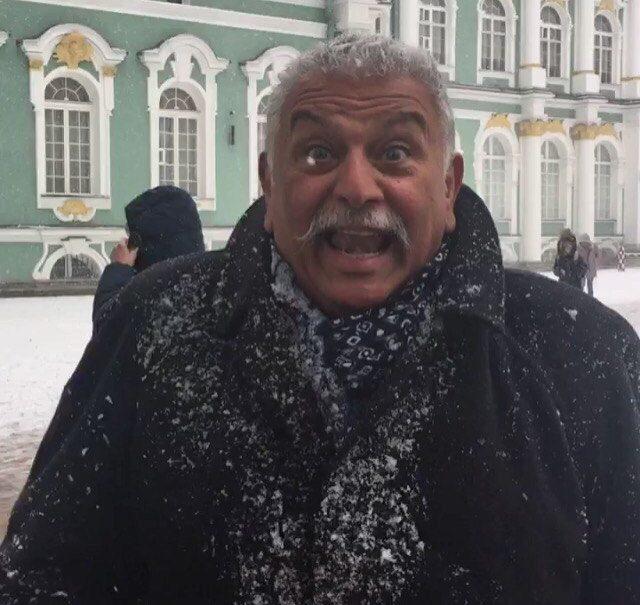 итальянец русской зимой