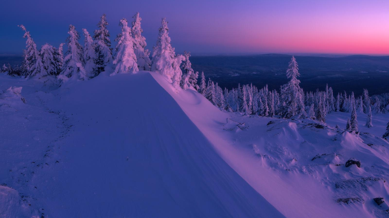 invierno tipico ruso frio nieve