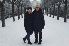 Your private touristic guide in Tsarskoe selo (Catherine palace) in winter 2017
