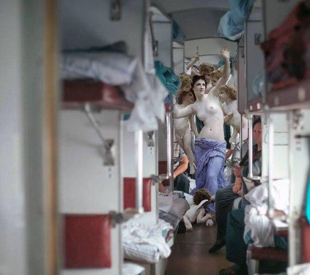 treno russo dentro mem