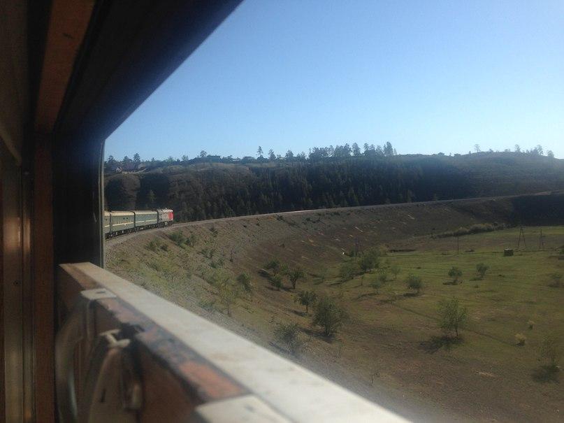 транссиб вид из окна поезда самый опасный участок дороги