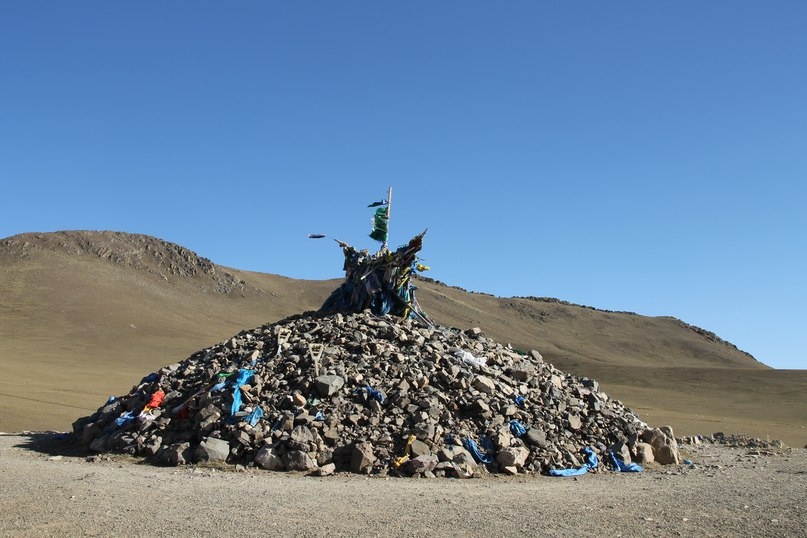 Монголия, Улан-Батор. степь вид панорама
