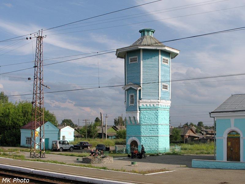 Транссиб вид из поезда окна