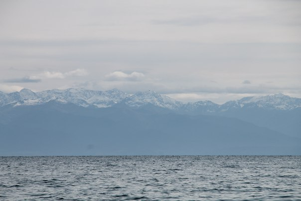 Siberia Russia panoralam del lago Bajkal