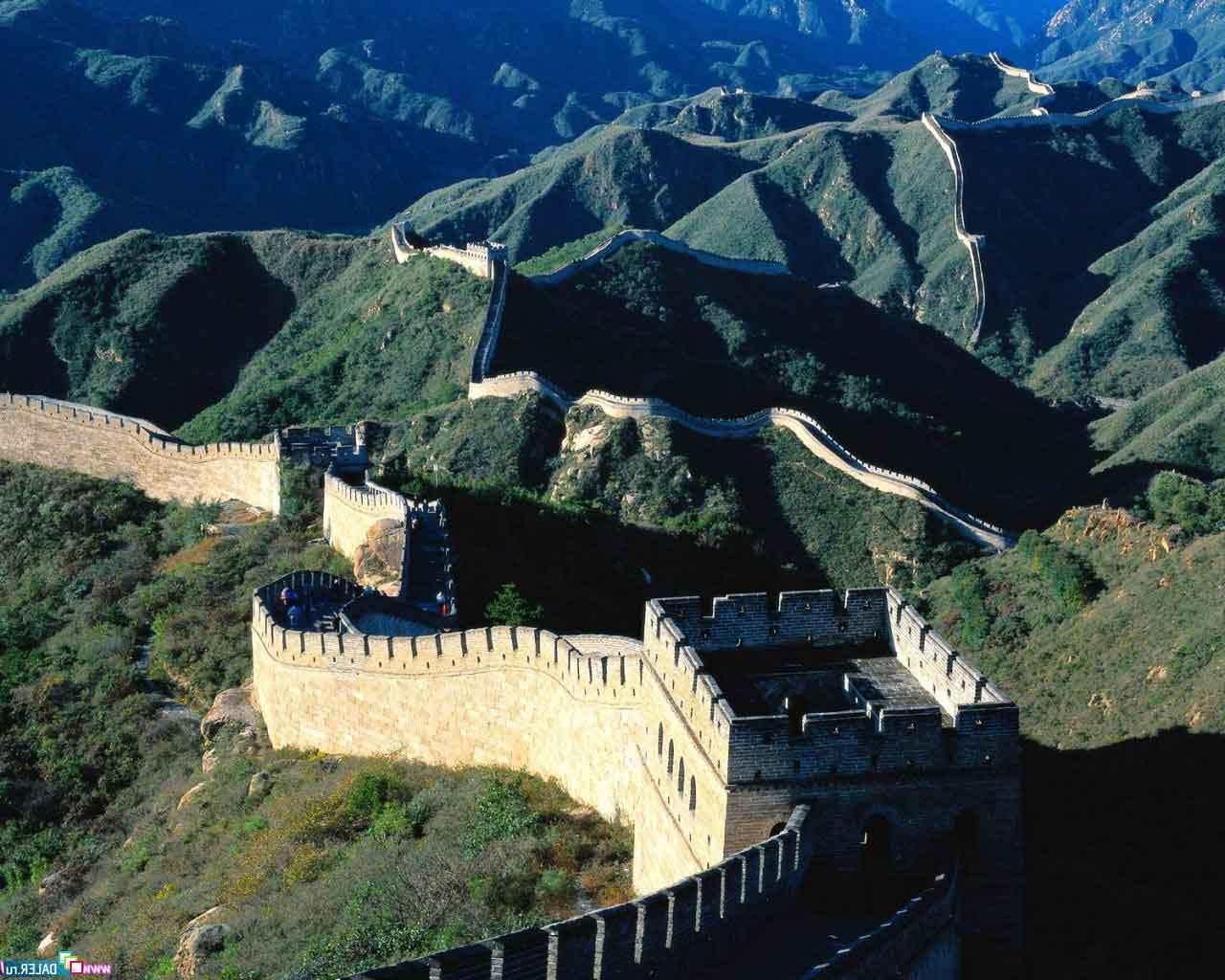 Cina. Pechino Beijing. Grande Muro cinese.