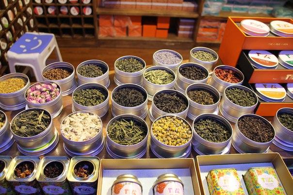 Китай, Пекин. Китайский рынок, выбор чая