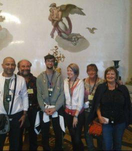Экскурсия по Эрмитажу на итальянском языке — Малахитовый зал