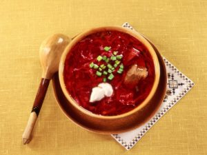 borsh sopa tipica rusa comer en san Petersburgo
