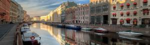 fiumi e canali San Pietroburgo