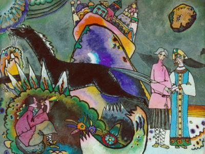 Kandinskiy obras en museo ruso