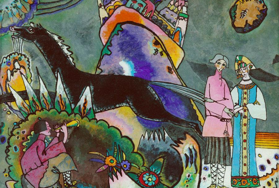 museo russo quadro