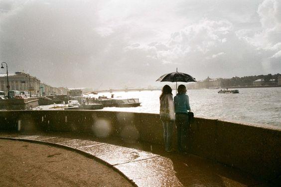 san pietroburgo pioggia e sole