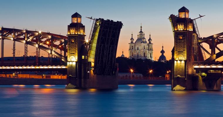 puente bolsheohtinskiy San Petersburgo