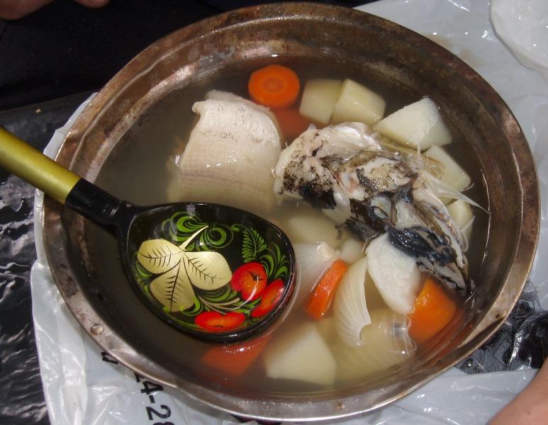 UJA Sopa de pescado tipica rusa