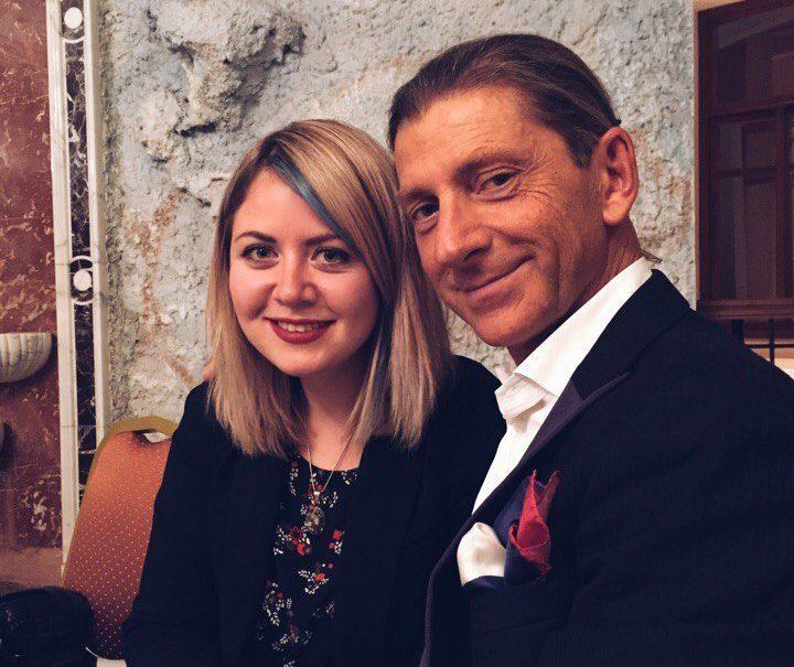 Con Eddy (Adruino Miscioscia) a San Pietroburgo
