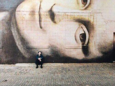 мона лиза граффити