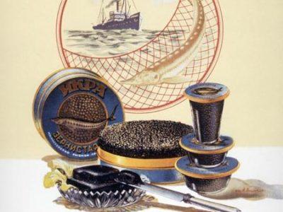 caviar ruso negro de esturion beluga probar