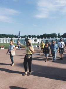 guía privado por San Petersburgo en Palacio de Catalina