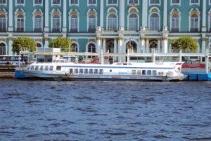 embarcadero de barco rapido hydrofoil de hermitage a Peterhof