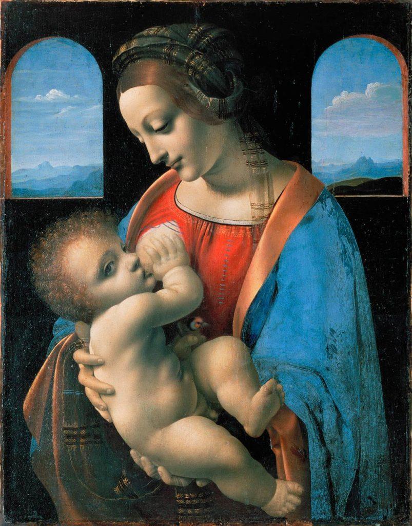 Madonna Litta hermitage Palacio de invierno san petersburgo leonardo da vinci da vinchi