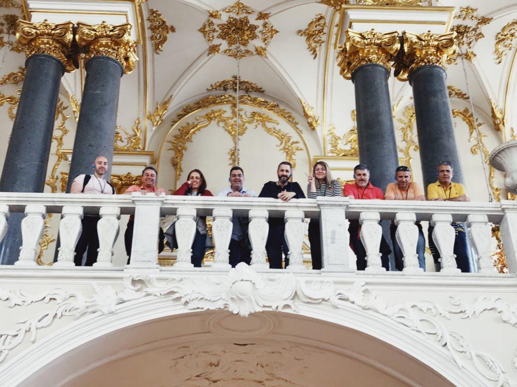 palacio de invierno visita con guía privado en español tour oficial